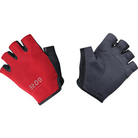 GORE WEAR C3 Guantes cortos, black/red